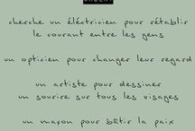dictons / citations