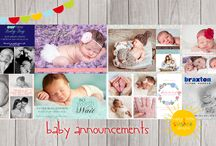 Baby Announcements / As the birth of your son or daughter is such an exciting time in your life, it should be cherished.  Announce the arrival of your precious little one to your Family and Friends with one of our Baby Announcements that they can treasure as a keepsake.
