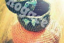 pouf& baskets