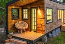 TINY HOME OR SMALL SPACE LIVING IDEAS / MAKING THE MOST OF A SMALL LIVING SPACE. / by Barry Spears