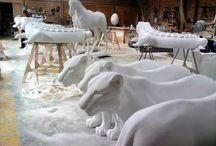 полистирол скульптура арт