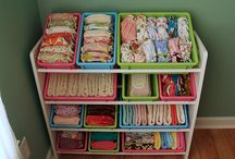 Cloth Diaper Organization Ideas
