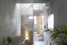 ✖️ C O N C R E T E ✖️ / interior / architecture