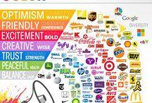 Teoría colores / Significados de los colores, psicología de los colores, los colores en marketing y pubicidad