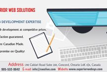 Toronto IT Services / Superior Web Solutions creates Informational Websites and online marketing campaigns for clients, that make their website more powerful to generate sales.