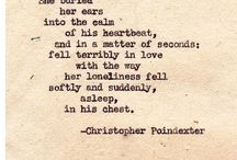 poetry and beautiful things said