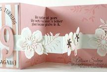 double z fold cards