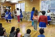 Children and Teens Square Dance / Square dancing for children and teens, including teaching methods.