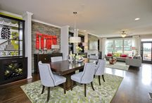 Traton Dining / Dining room decor, lighting, window treatments, architectural detail