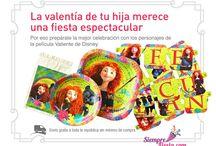 Fiesta de Valiente - Disney / Ideas y artículos para organizar la mejor fiesta de Valiente.
