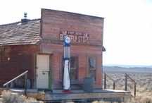 Old western places.