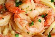 Linguine shrimp garlic lemon