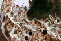 old masters / renaissance , baroque , nude , classical art , greek , roman , sculpture , mythology