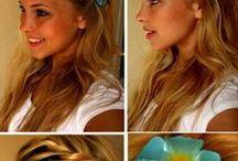 Kampauksia/ Hair styles