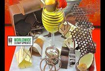 Chocolade decoraties
