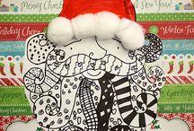 Christmas Art Projects / Christmas Art