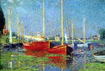 Argenteuil et les impressionnistes / Certains peintres impressionnistes ont séjourné et créé à Argenteuil. À commencer par Claude Monet, Caillebotte, Sisley, Manet...