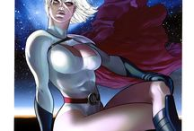 Power Girl / Power Girl (real name Kara Zor-L, also known as Karen Starr) is a DC Comics superheroine, making her first appearance in All Star Comics #58 (January/February 1976).Power Girl is the cousin of DC's flagship hero Superman, but from an alternate universe in the fictional multiverse in which DC Comics stories are set.