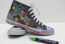 Réalisations aux Shake / Découvrez des réalisations d'artistes faites aux Graph'it Shake, le marqueur à peinture opaque, applicable sur toutes les matières !