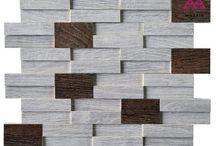 porselen mozaik