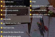 Study/School tips