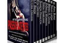 Passionate Bites: Hot Tales of Vampire Romance / Ten hot vampire romance novels by NY Times & USA Today bestselling authors.  Passionate Bites is a paranormal romance collection loaded with sizzling hot alpha-males & badass heroines. From vampires to werewolves to witches & demons, these dark, sensual tales of romantic suspense weave a tapestry of intrigue, desperation, betrayal, & enough steamy desire to satisfy every taste.  smarturl.it/PassionateBites