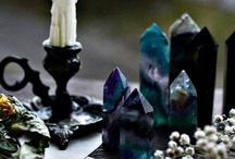 natural stones, crystals