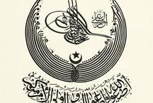 arapça calligraphy