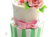 cakes - decorated and plain jane