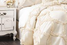 Beautiful bedding and furnishings