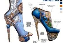 Footwear illustration