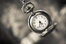 Time / We do not exist inside time, we are time... Martin Heidegger.