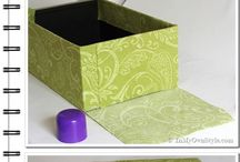 Shoe box diy