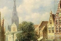 Dutch painting vintage