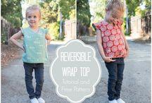 ubrania dzieci - tutorial