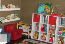 Playroom/ bonus room  / by Dana