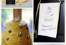"""Mommy to Bee!"" Bee Themed Baby Shower"