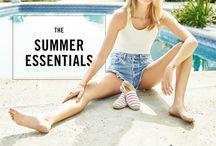 Summer Essentials / by Melissa Crawford