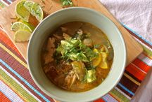 Soups, Stews, Chili / Healthy comforting recipes