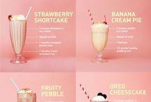 Milkshakes/smoothies