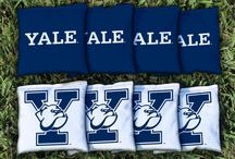 NCAA Cornhole Boards and College Corn Hole Bags and Sets / Check out the selection of NCAA licensed Cornhole Boards, Corn Hole Bags and Accessories for College Sports Fans.  Over 500 Colleges available with many options per team, complete sets with logo bags and team carry cases for your boards as well.
