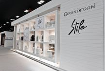 SFA Grandform - Cersaie / Act Events Allestimenti fieristici Exhibition stand display Our work at Cersaie