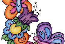 Decoupage Clip Art / by Michele