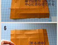 金太郎折り紙の折り方