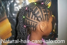 Children's natural hairstyles  / by Diana McClanahan