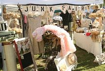 Booth Ideas / We now have 4 flea market booths in AR.  This board serves as inspiration for making those booths extraordinary. / by Audrey Wallace-Wells