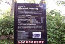 Whitehall Gardens in the U.K. / Our Royal Edge aluminum garden edging by YardProduct.com on a project in the U.K. called Whitehall Gardens