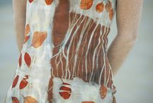 Felted Dresses / Beautiful creations made in the techniques of wet felting, nuno felting, needle felting. / by HeartFelt Silks