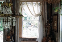 Winsome Windows / Window dressing. Curtains and drapes.