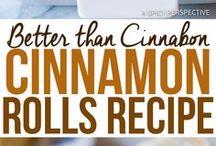 Cinnamon roll recipes my fav